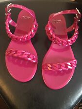Pink Givenchy Jelly Plate Sandals Size 38 Brand New