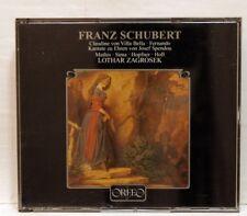 LOTHAR ZAGROSEK - SCHUBERT claudine von villa bella, fernando ORFEO CD NM