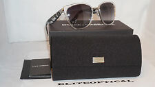 New Authentic Dolce & Gabbana D&G DG2107 11628G 3N Black Clear/Grey $400 Italy
