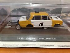 James Bond Car Collection No 26 Lada 1500 - The Living Daylights + Magazine
