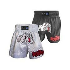 BULLDOG MUAY THAI BOXING SHORTS MMA KICK FIGHT SHORT BOXING ADULT KIDS ALL SIZES