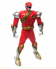 """Vintage Power Rangers Wildforce RED RANGER transforming 5"""" toy action figure"""