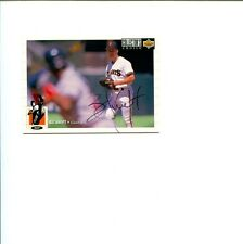 Bill Swift San Francisco Giants 1994 Upper Deck Signed Autograph Photo Card