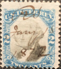 Scott #R104 US 1871 2 Cent Washington Revenue Documentary Stamp