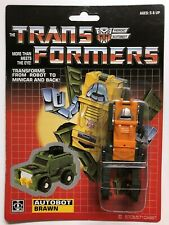 TRANSFORMERS G1 AUTOBOT BRAWN MOSC! US SELLER RARE!