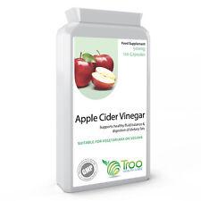 Apple Cidre Vinaigre 500mg 120 Capsules - GB Fabriqué Gmp Garanti Qualité Mère