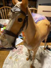 Jane West Cowgirl Huge Set W/ Access Used Marx Vintage 1960's 4 Dolls 2 Horses