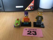 Simpson Lego - Bart Simpson / Smithers Mini Figures Lot 23