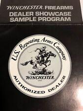 Winchester Firearms Dealer Showcase Program Brochure 1984