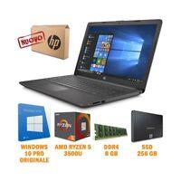 "NOTEBOOK HP 255 G7 15,6"" AMD RYZEN 5 DDR4 8GB SSD 256GB WINDOWS 10 PRO-"