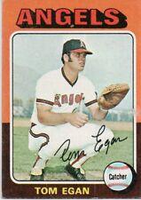 1975 Topps Mini #88 Tom Egan California Angels (2018-0728)