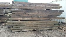 Softwood Long Railway crossing timbers - Creosoted