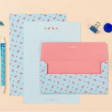 Cute Dala Horse Donkey Letter set - 4sh writing stationary paper 2sh envelope
