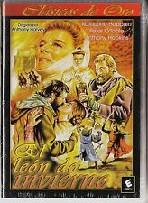 EL LEÓN DE INVIERNO de Anthony Harvey con Katharine Hepburn, Peter O'Toole...