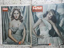 #cine illustrato teatro radio cinema lea padovani rita hayworth italian magazine