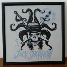 Jack Sparrow print on metal