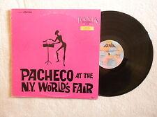 "LP EL GRAN PACHECO ""Pacheco at the New York world's fair"" FANIA SLP 326 µ"
