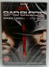 UFC Bad Blood Chuck Liddell Vs Tito Ortiz DVD Collection - NEW