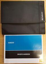 RENAULT KANGOO OWNERS MANUAL HANDBOOK RADIO WALLET + SB 2010-2013 PACK C-415