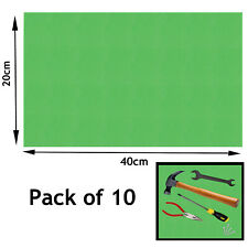 Drawer Liner Tool Box Garage Shed Work Bench Pack of 10 Liners 20 x 40 cm