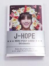 Jhope J Hope BTS Bang Tan Boys Photo Mini Post Card 56 Sheets KPOP Card K-POP V