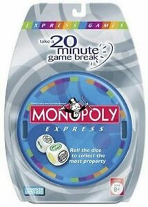 NEW - Monopoly EXPRESS DICE Game by Parker Bros