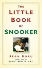 The Little Book of Snooker by Sean Boru (Hardback, 2010)