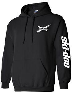 SKI-DOO style SNOWMOBILE Hoodie Sweatshirt CHOOSE DESIGN COLOR Ski Doo