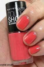 NEW! Maybelline New York Color Nail Enamel Polish Lacquer in CORAL CRUSH