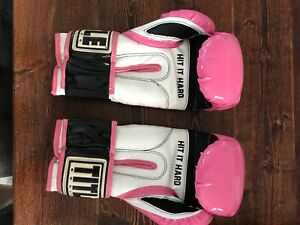 title boxing gloves sz Small