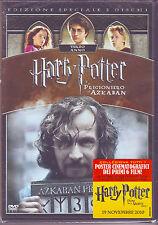 HARRY POTTER e il prigioniero di Azkaban (2004) EDIZIONE SPECIALE 2 DVD + POSTER