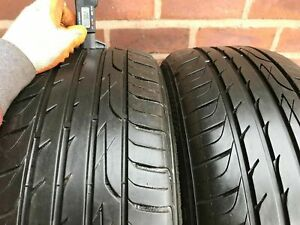 2x 195 65 15 195/65 R15  5MM+ PART WORN TYRE any brand