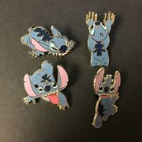 Booster Collection 4 Pin Set - Stitch Disney Pin 40058