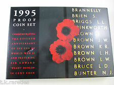 1995 Australian PROOF set. End of WWII 50th Anniversary - TOP  set and good box