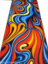 Huge Aboriginal abstract canvas  Modern Art By Jane Crawford COA