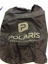 Polaris waterproof backpack rucksack Cover In Black With Reflective Logo
