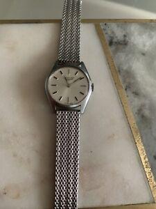 LONGINES  Hand Winding Vintage Women's Watch 1960's Overhauled 22mm