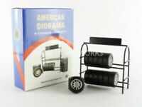 AMERICAN DIORAMA 77448 PATRICK 77443 TIM FIGURE or 77518 TYRE RACK model 1:18