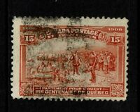 Canada SC# 102, Used, Hinge Remnant, vertical crease - S6790