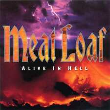 MEAT LOAF - ALIVE IN HELL BAT OUT OF HELL LIVE CD