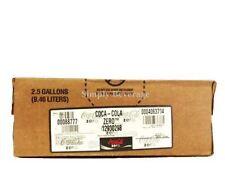 Coke Zero Soda Syrup Concentrate 2.5 Gallon Bag in Box