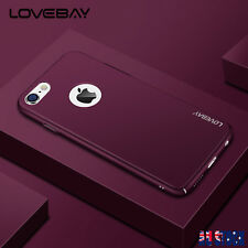 iPhone X 7 Plus 6 6S Ultra-Thin Luxury Shockproof Case Cover Hard Back For Apple