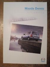 MAZDA DEMIO ATLANTIS Special Version orig 2000 UK Mkt Sales Leaflet Brochure