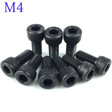 4mm / M4 x 0.7 - SOCKET HEAD Caps Screws 12.9 Alloy Steel Black Oxide DIN 912