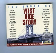CD (NEW) OST THE SONGS OF WEST SIDE STORY LES + BELLES CHANSONS