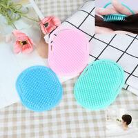 Plastic Shampoo Scalp Shower Washing Hair Head Massage Brush Massager Comb UK