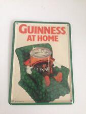 Guinness cerveza-sofá at home-mini chapa chapa escudo tarjeta Irlanda sign 4