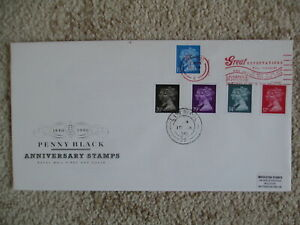 1990 PENNY BLACK ANNIV.GPO FIRST DAY COVER, LISTED GREAT EXPECTATIONS SLOGAN PMK