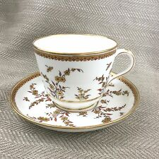 Rare Minton Large Breakfast Cup & Saucer Victorian Aesthetic  Antique 1882