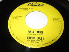 "MARION COLBY I'm No Angel 45 7"" EX-/VG+ CAPITOL DJ 1950'S POP VOCAL PROMO LISTEN"